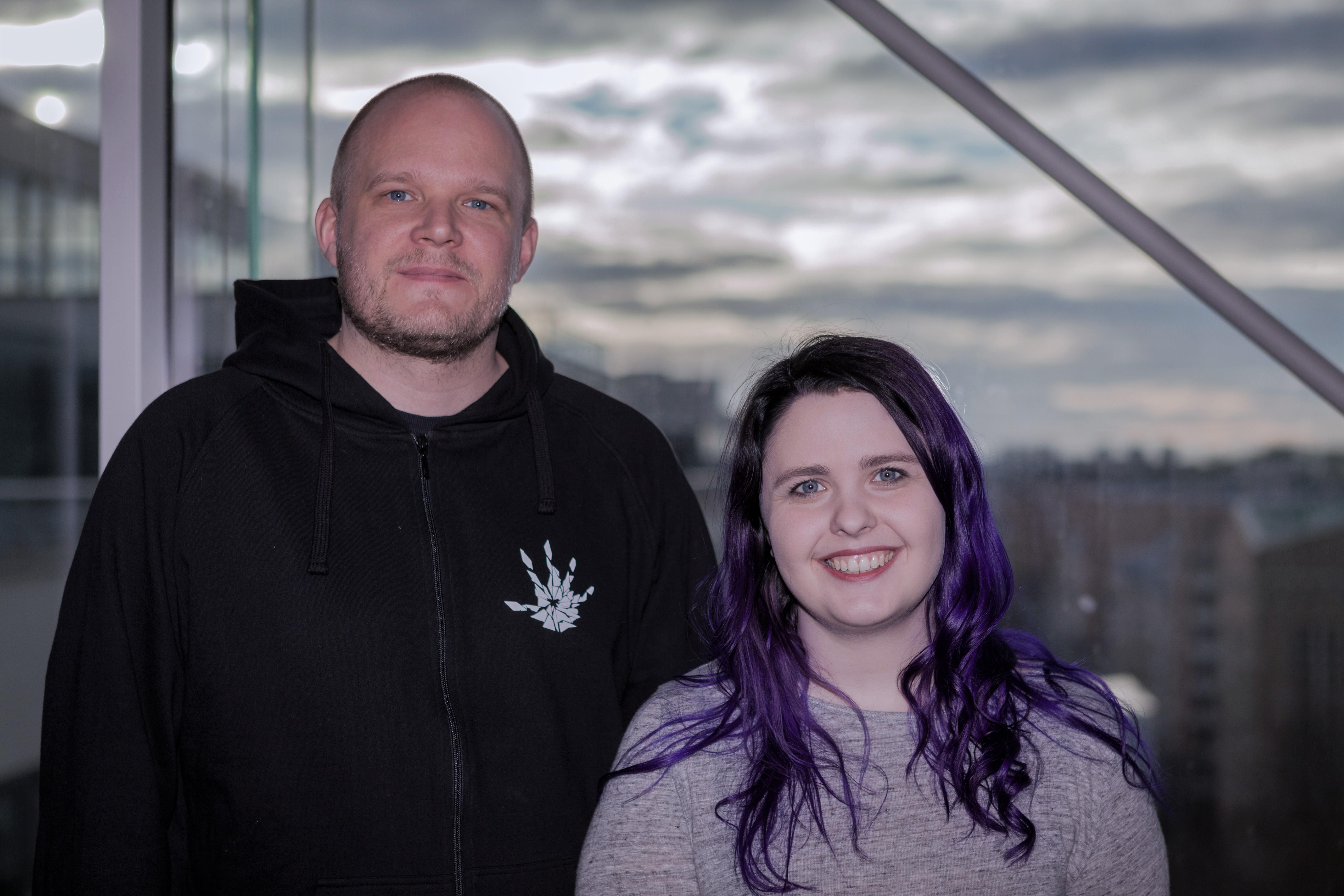 Emma Fagerholm och Magnus Åsard